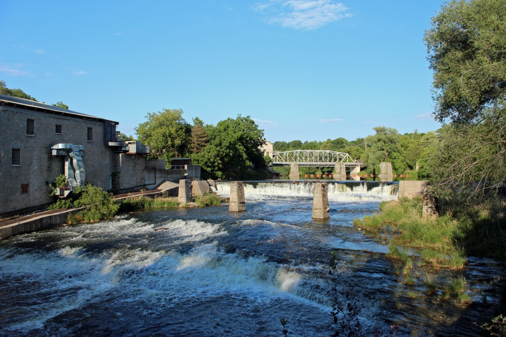 Pictures Of Elora Ontario Canada Along The Grand River