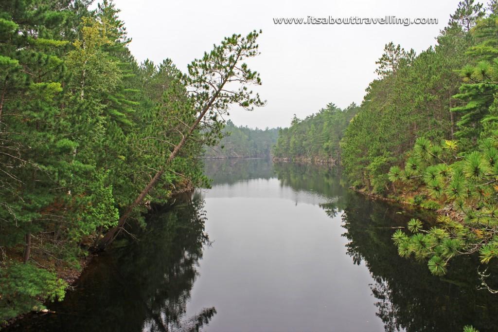 the gut samuel de champlain provincial park ontario canada