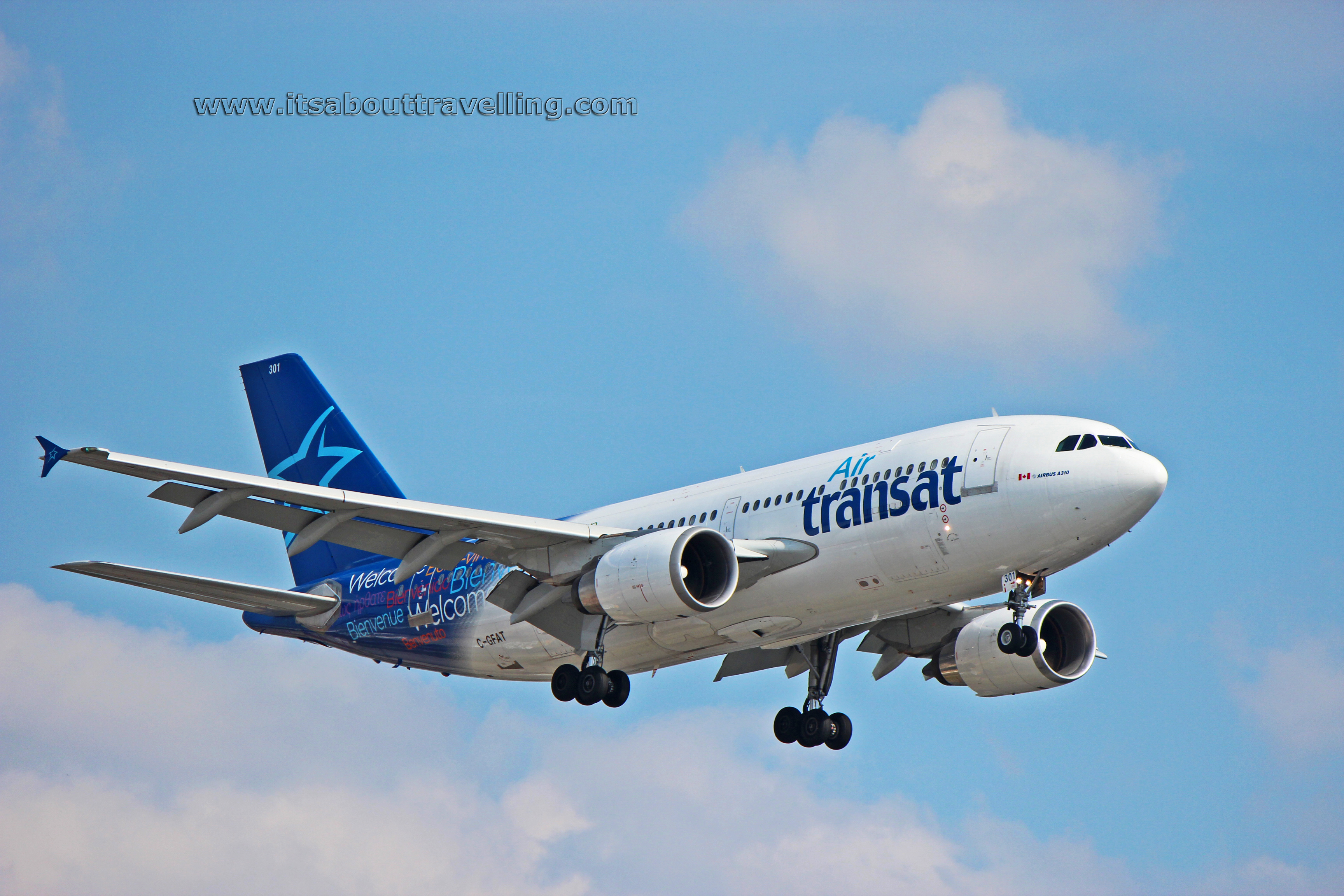 c gfat air transat airbus a310 it s about travelling
