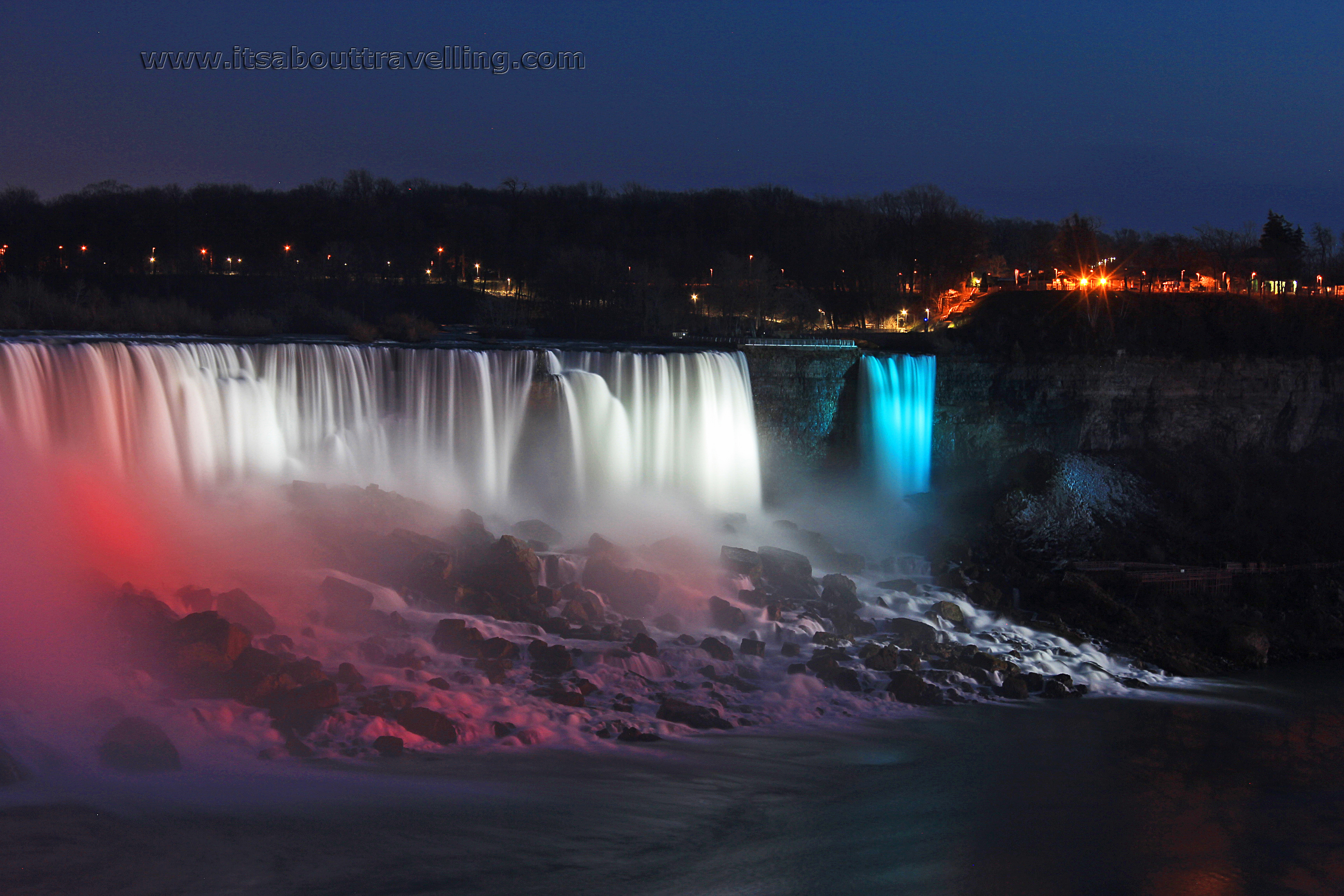 Niagara Falls Night Images It S About Travelling