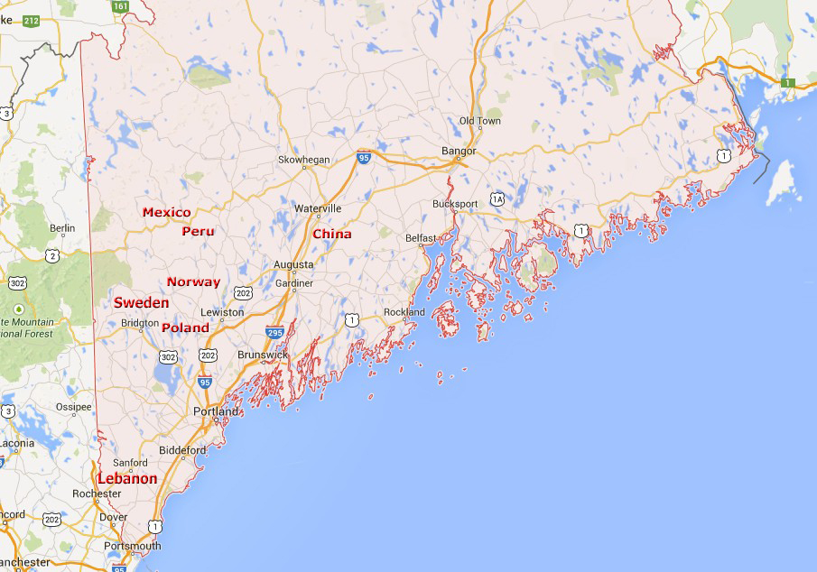 Around The World In Maine Usa It S About Travelling