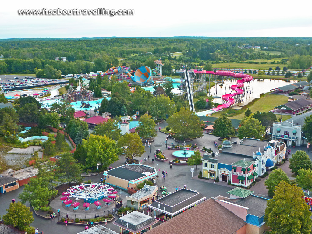 Darien Lake is a theme park resort in New York, Located in Darien, New York, United States. It is owned by EPR Properties and operated by Six Flags. In addition to the amusement park, it features a campground, water park, and an on-site lodging.