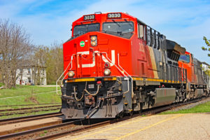 cn freight train woodstock ontario