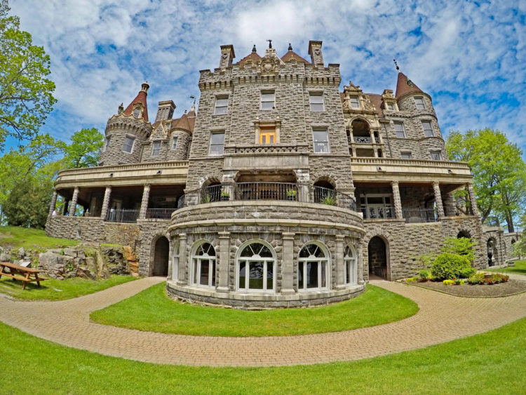 boldt castle thousand islands st. lawrence river new york