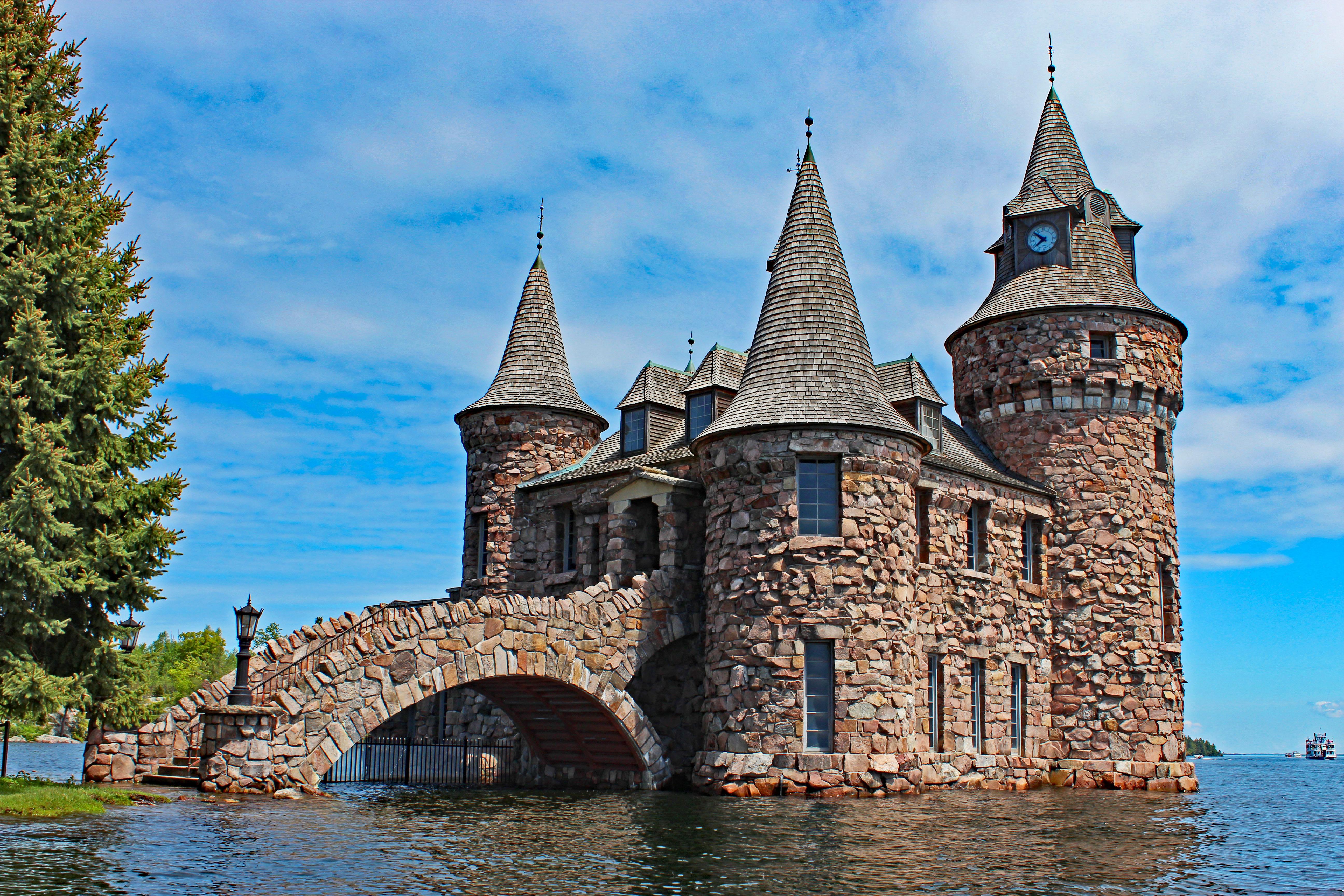 Boldt Castle 1000 Islands Mansion On The St Lawrence