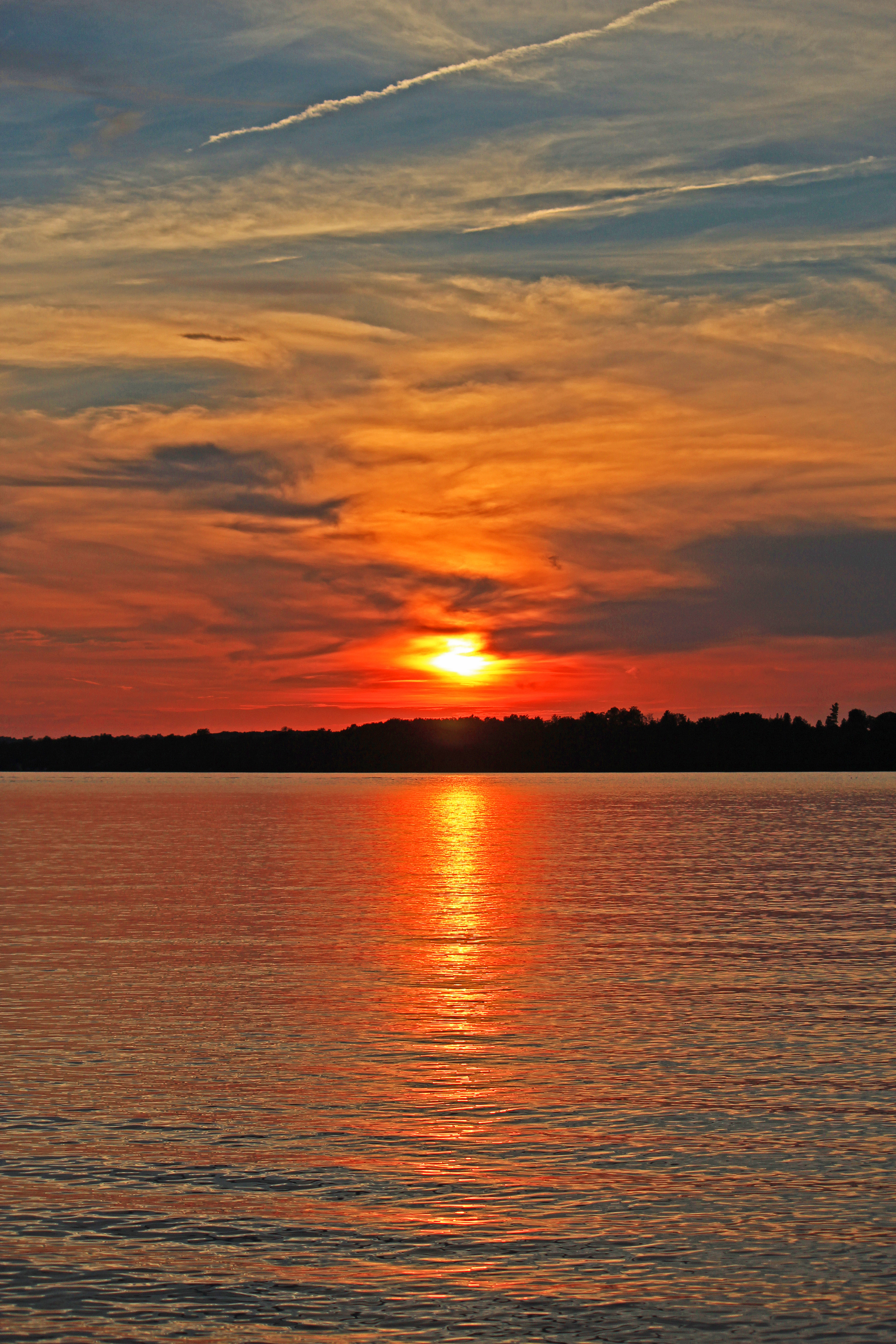 Sturgeon Lake Sunset Photos (And A Time Lapse Video)