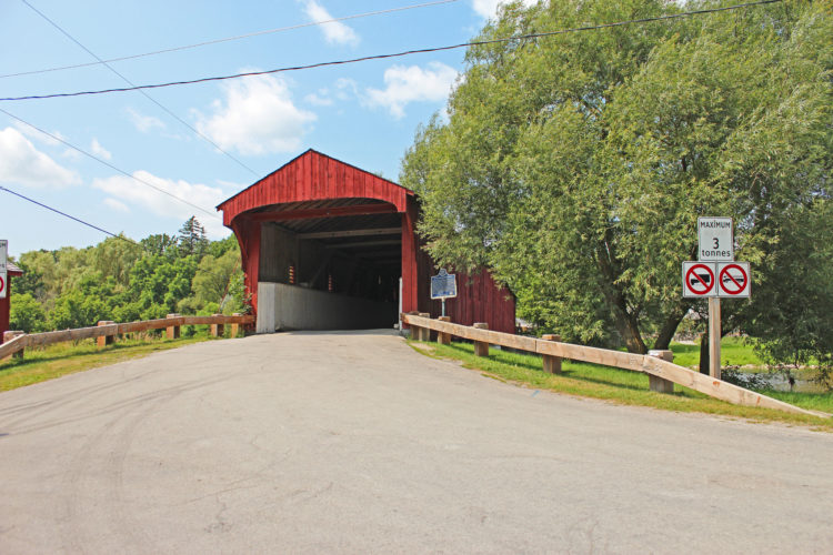 west montrose covered bridge regional municipality of waterloo, ontario, canada