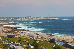 peggy's cove nova scotia atlantic ocean