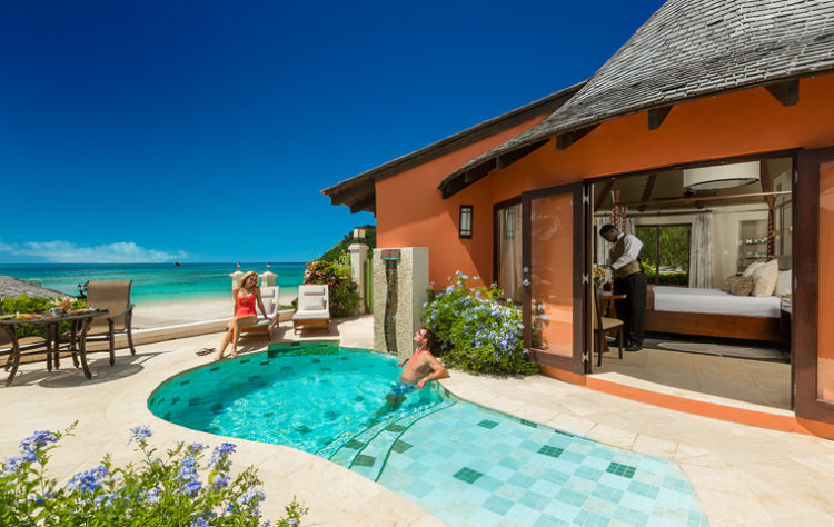 sandals resorts private pool suite