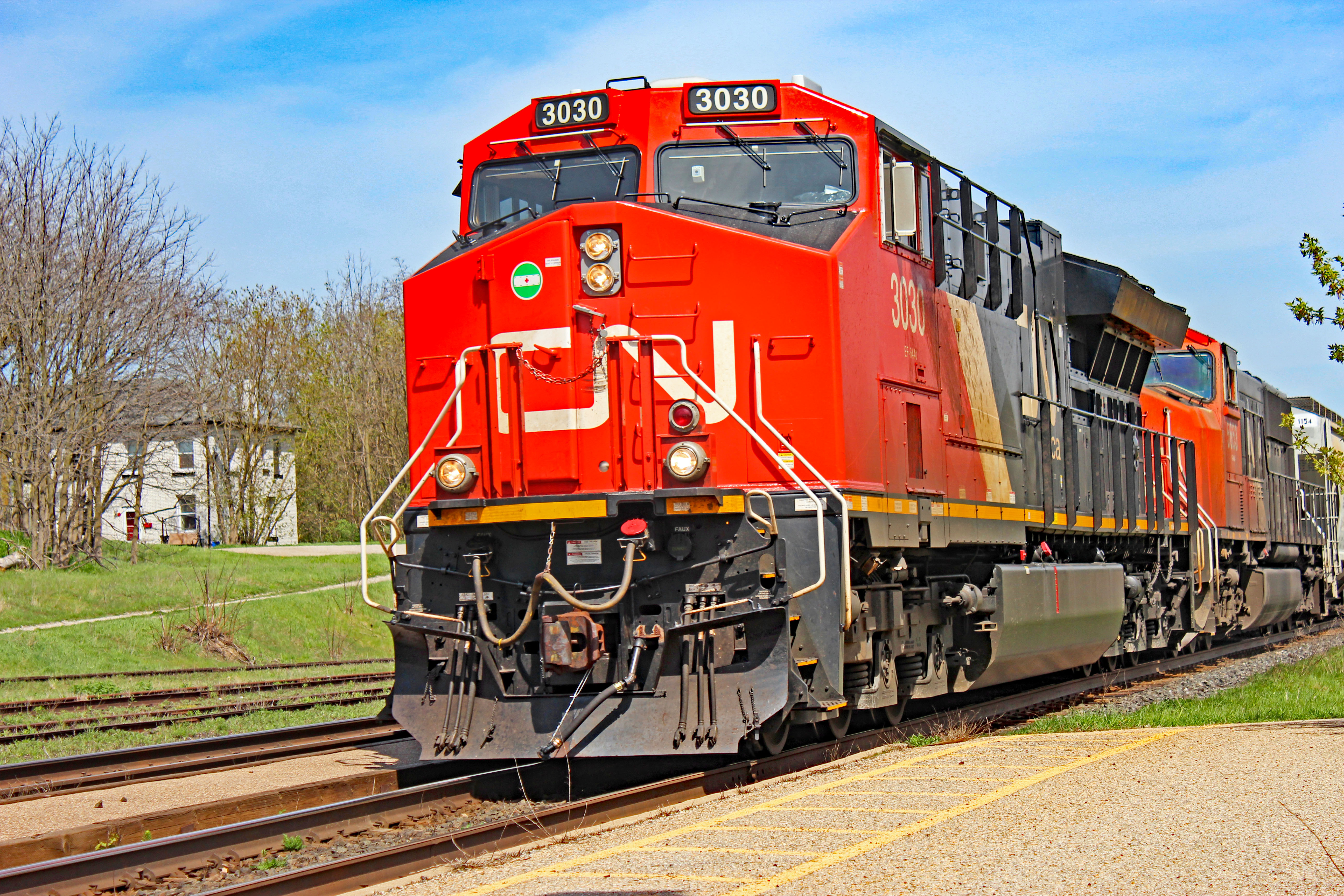 CN Freight Trains: Show Of Gratitude To Mike Armstrong ...